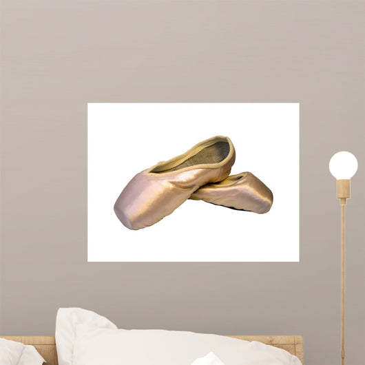 New Ballet Shoes Wall Decal