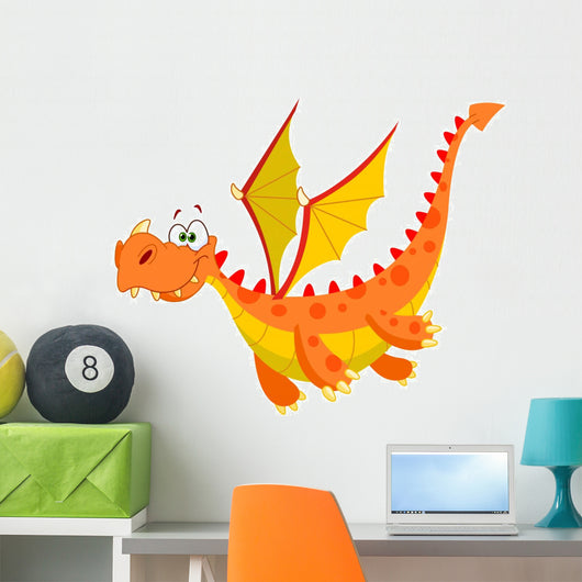 Flying Dragon Wall Decal
