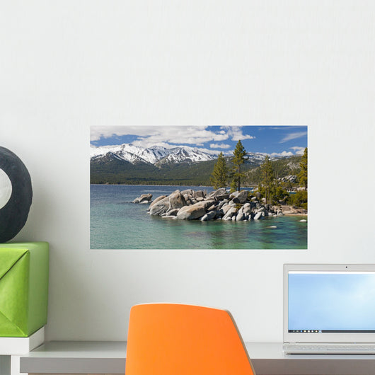 Lake Tahoe Sand Harbor Wall Decal