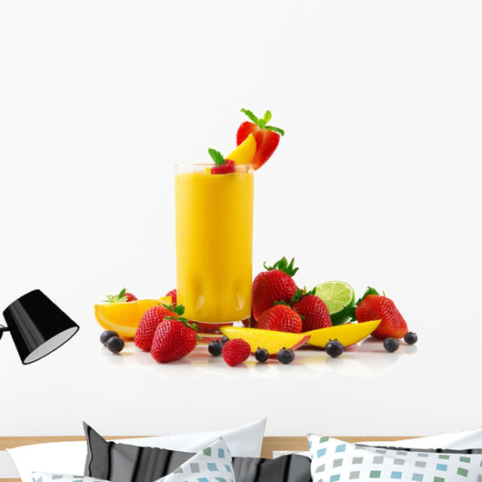 Mango Smoothie Wall Decal