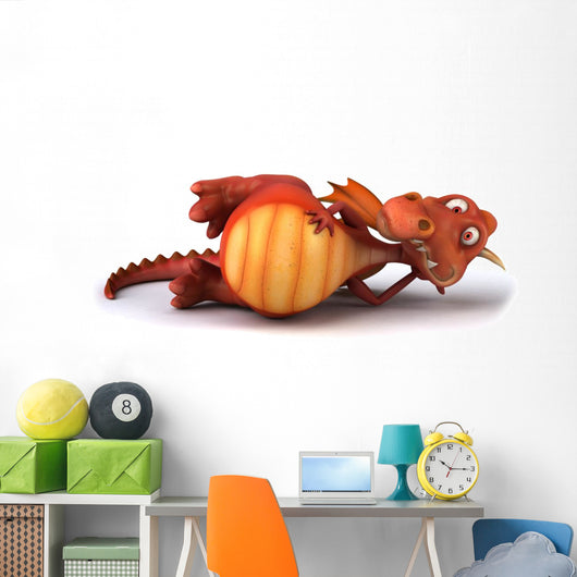 Dragon Wall Decal Design 2