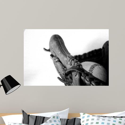 Ball and Glove Wall Decal