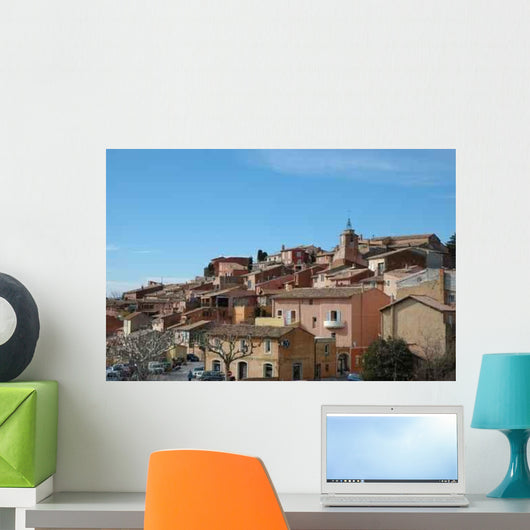 Village Wall Decal Design 2
