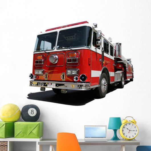 Fire Engine Wall Decal