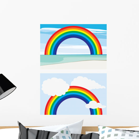 Rainbow Wall Decal Design 1