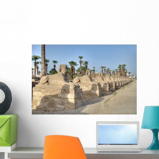 Sphinx Alley Luxor Wall Decal