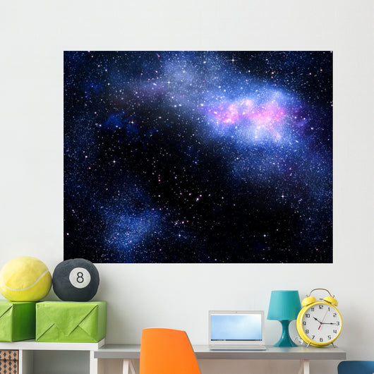 Starry Deep Outer Space Wall Decal Design 2