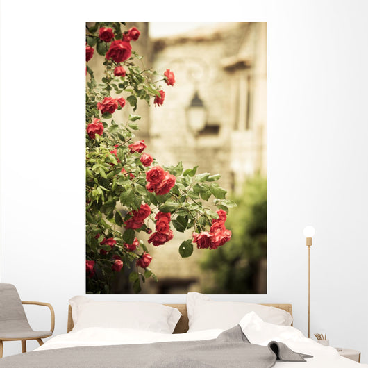 Rank Rose Medieval Surroundings Wall Decal