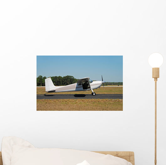Light Cessna Airplane Wall Decal