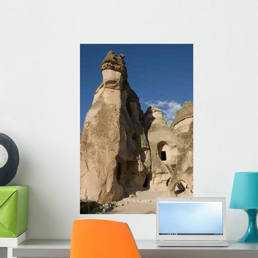 Fairy Chimneys Wall Decal