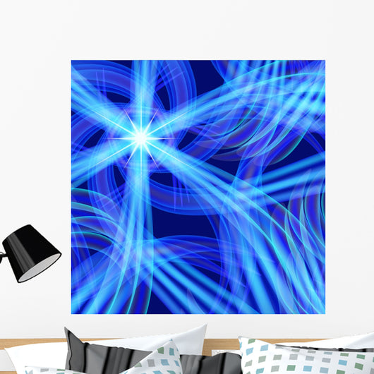 Abstract Blue from Whirlpool Wall Decal