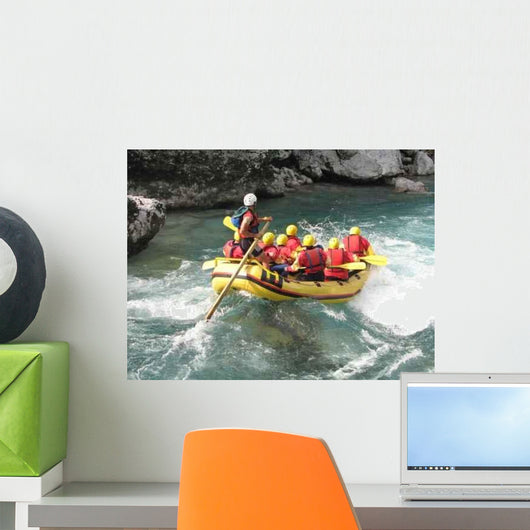 Rafting Wall Decal Design 2