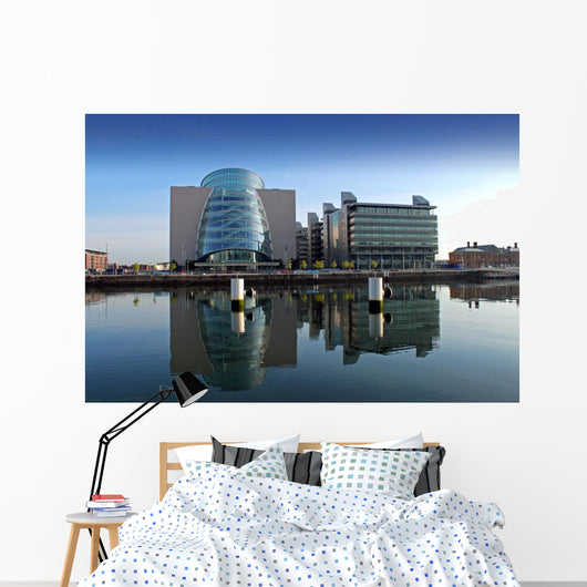 Buildings North Wall Quay Wall Decal