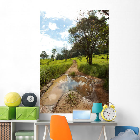 Wet Road Full with Wall Decal