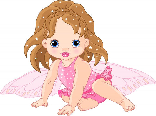 Cute Little Fairy Wall Decal