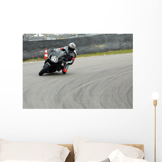 Motorbike Racing Wall Decal