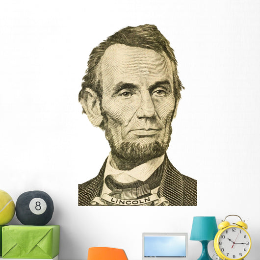 Abraham Lincoln Wall Decal