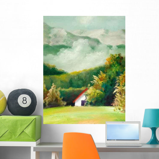 Summer Landscapes Wall Decal