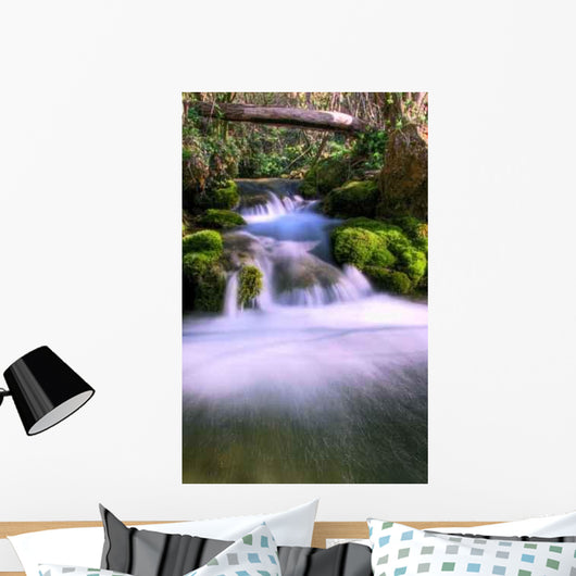 Cascade Wall Decal Design 3
