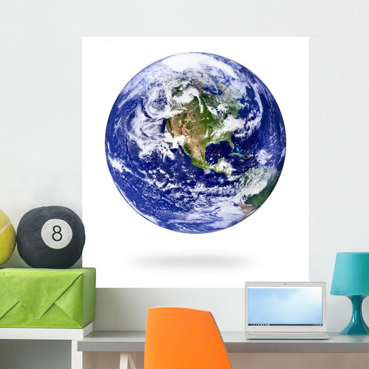 Earth Wall Decal Design 1