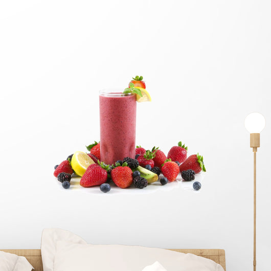Berry Smoothie Wall Decal Design 2