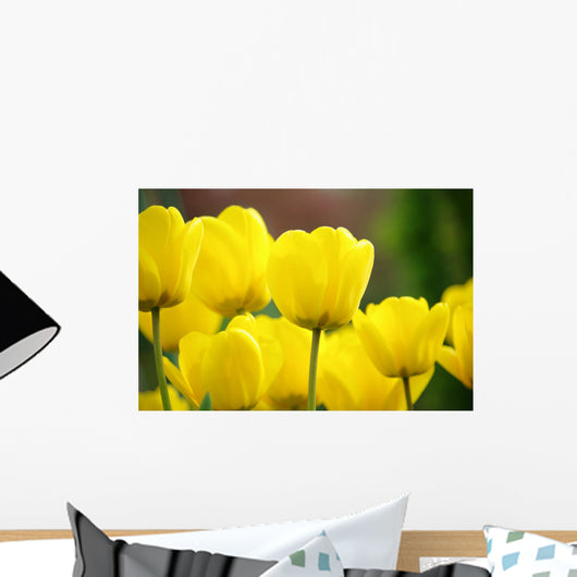 Tulipes Jaunes Wall Decal