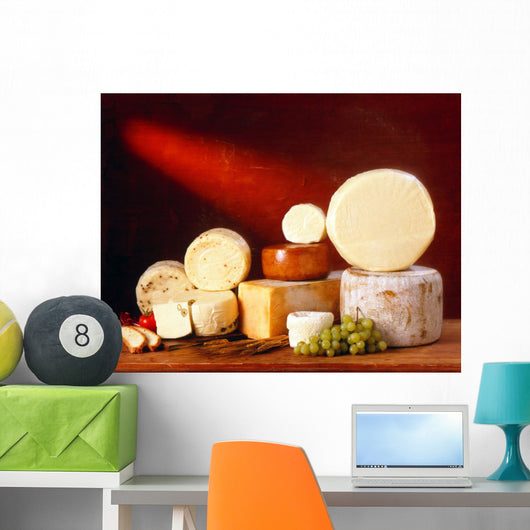 Sicilian Cheeses Wall Decal