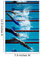 Swim Dive Start 01 Wall Decal