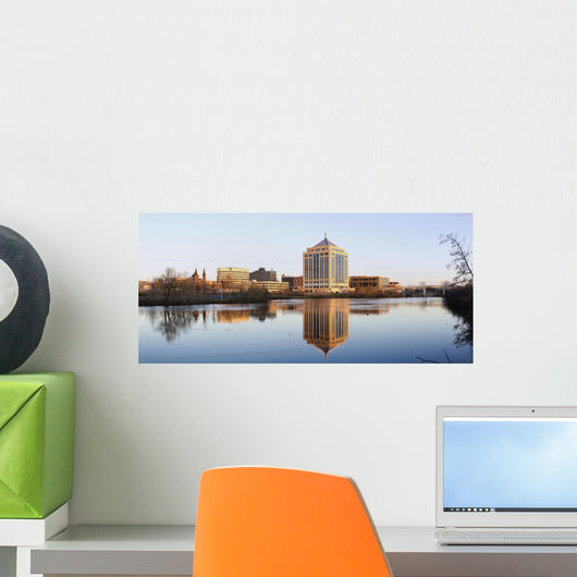 Wausau Panorama Wall Decal