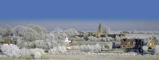 Village Winter Wall Decal