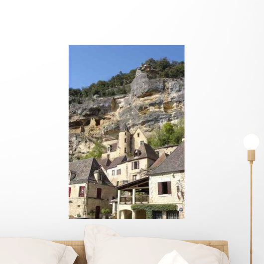 La Roque Gageac Wall Decal