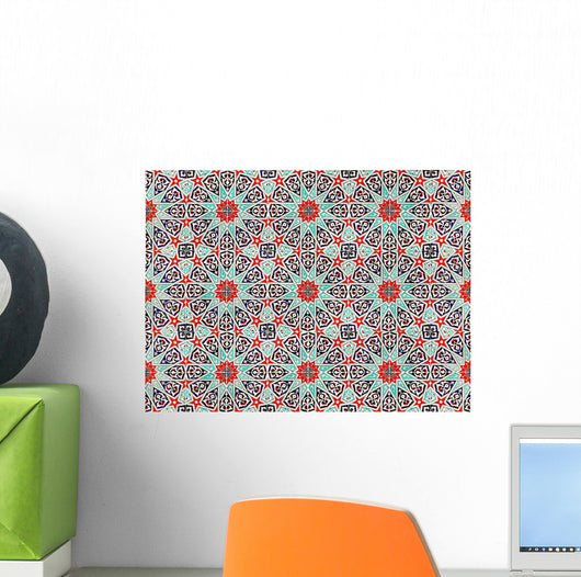 East Pattern Wall Decal