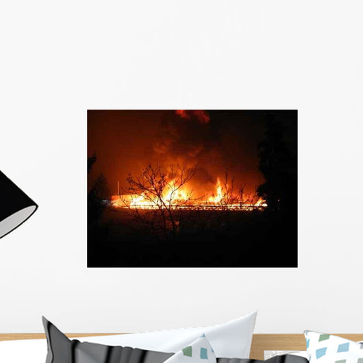 Big Fire Wall Decal