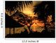 Jamaican Sunset Wall Mural