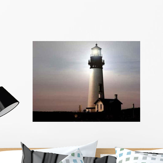 Lighthouse at Night Wall Decal