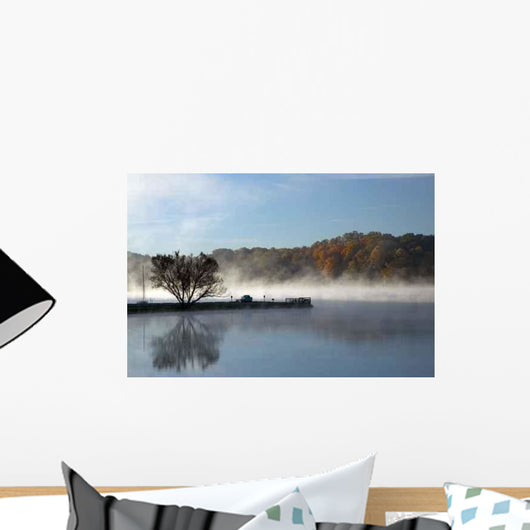 Fog Pier Wall Decal