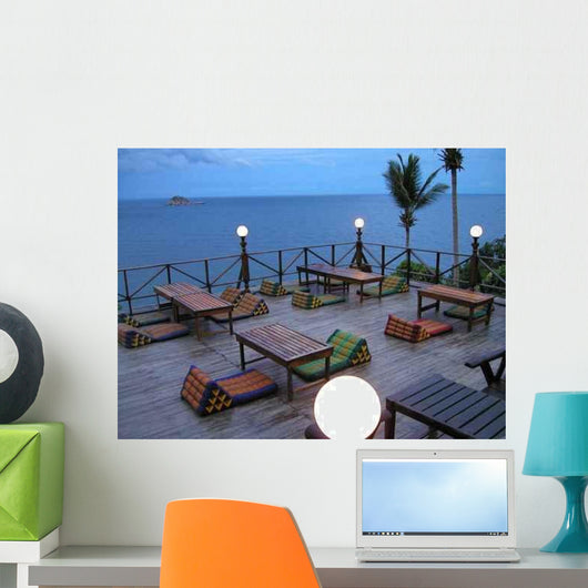 Beach Restaurant Thailand Wall Decal