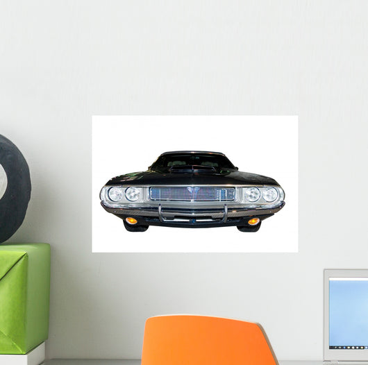 Retro Classic Dodge Challenger Wall Decal
