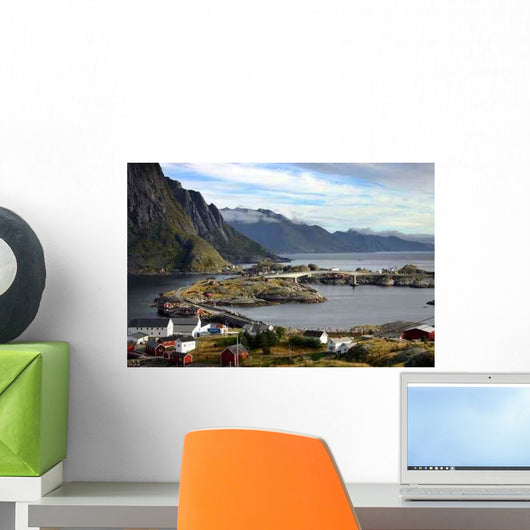 Hamnoy Wall Decal Design 1