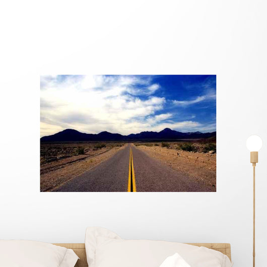 Highway to Mountains Wall Decal