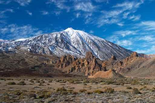 Teide Volcano from Far Wall Decal