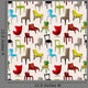 Chair Furniture Seamless Pattern Wall Decal