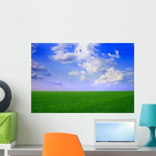 Field Landscape Wall Decal