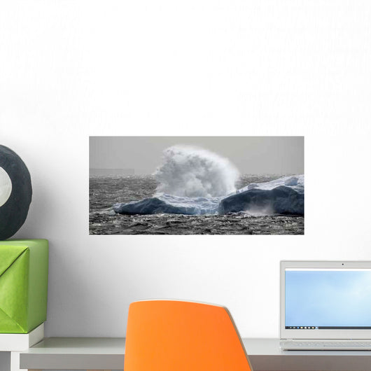Antarctic Fountain Wall Decal