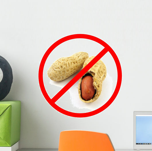 Peanuts Allergy Wall Decal