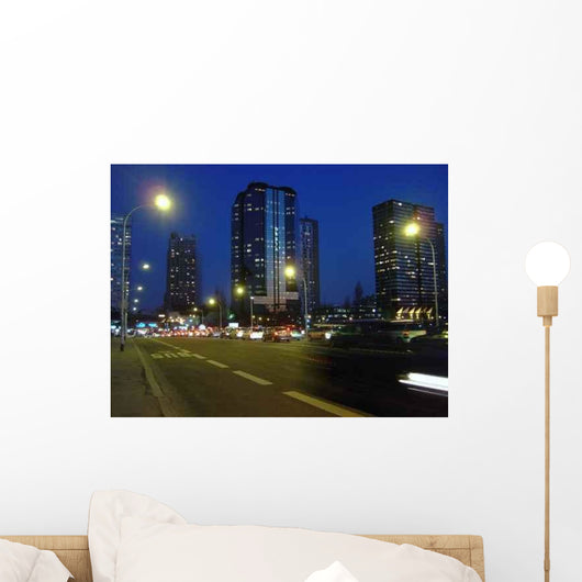 Paris Night Wall Decal