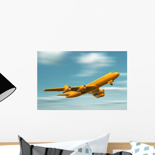 Airplane Wall Mural