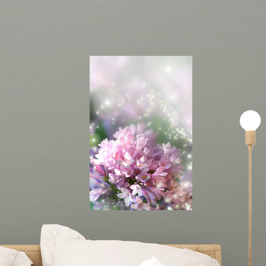 Fairy Dust Lilac Wall Decal