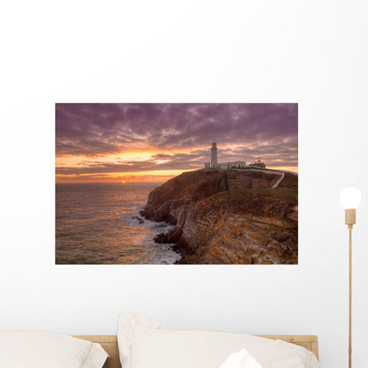 South Stack Lighthouse Wall Mural