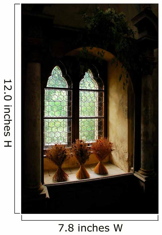 Medieval Window Wall Decal